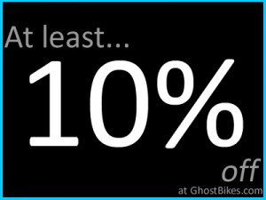 At least 10% off Givi at Ghostbikes