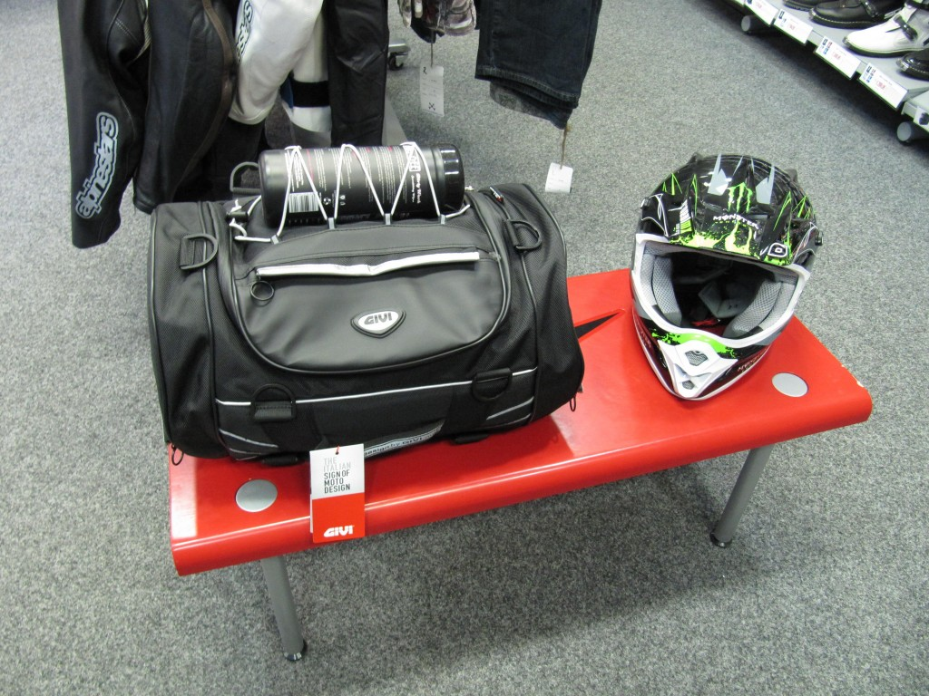 Givi T477 Silver Range Roll Bag at ghostbikes.com